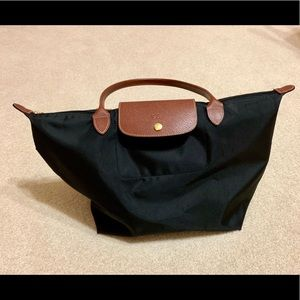 Large Le Pliage Tote - Black